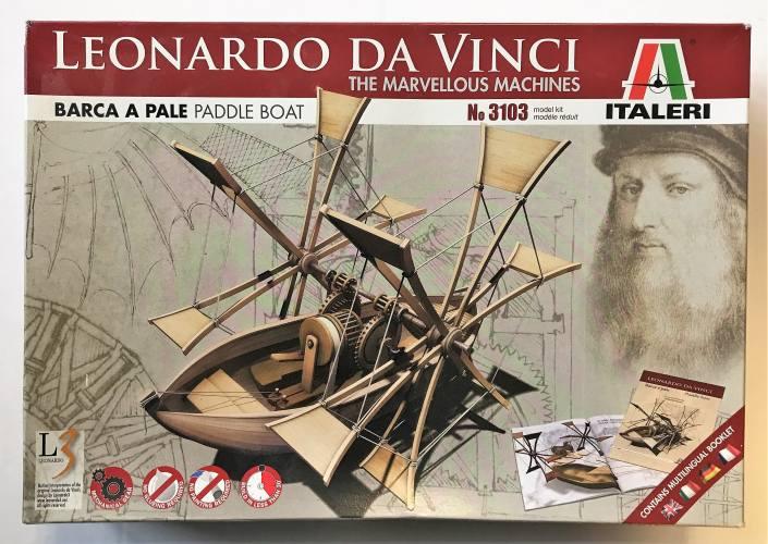 ITALERI  3103 LEONARDO DA VINCI PADDLE BOAT
