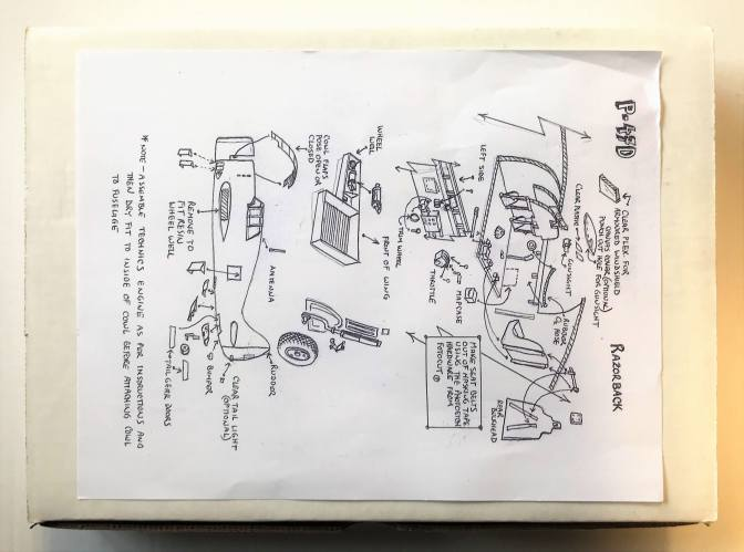 JERRY RUTMAN 1/32 P-47D BUBBLETOP MID-PRODUCTION