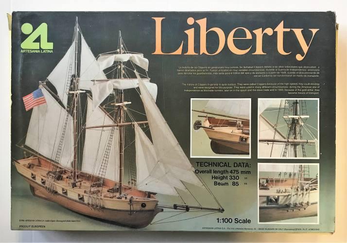 ARTESANIA LATINA 1/100 20003 LIBERTY CLIPPER - WOODEN MODEL