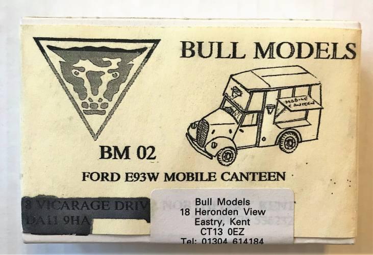 BULL MODELS  BM02 FORD E93W MOBILE CANTEEN