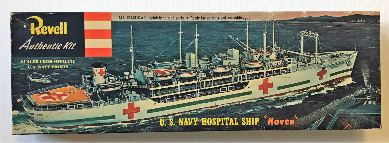 REVELL  H-320 HOSPITAL SHIP HAVEN