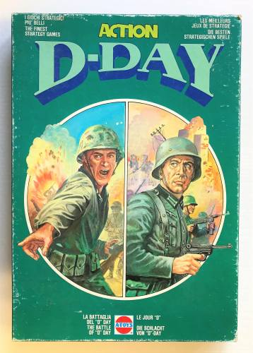 A-TOYS  1304 THE BATTLE OF D-DAY STRATEGY GAME
