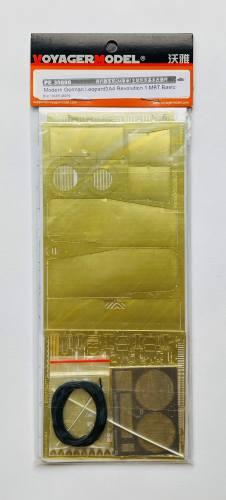 VOYAGER 1/35 PE 35890 MODERN GERMAN LEOPARD2A4 REVOLUTION 1 MBT BASIC PHOTO ETCH FOR TIGER 4629