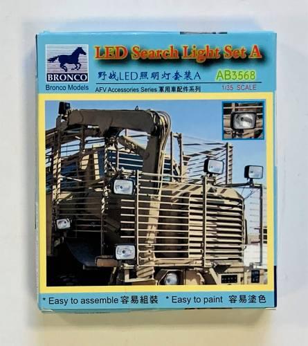 BRONCO 1/35 3568 LED SEARCH LIGHT SET A