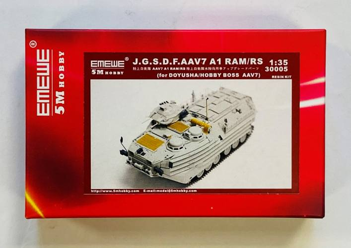 5M HOBBY 1/35 30005 J.G.S.D.F.AAV7 A1 RAM/RS FOR DOYUSHA/HOBBY BOSS AAV7