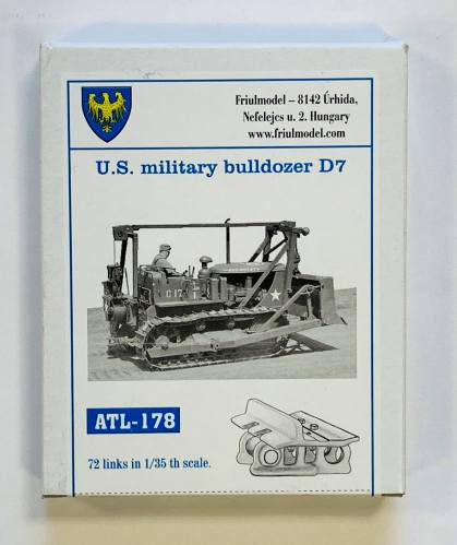 FRIULMODEL 1/35 ATL-178 U.S. MILITARY BULLDOZER D7