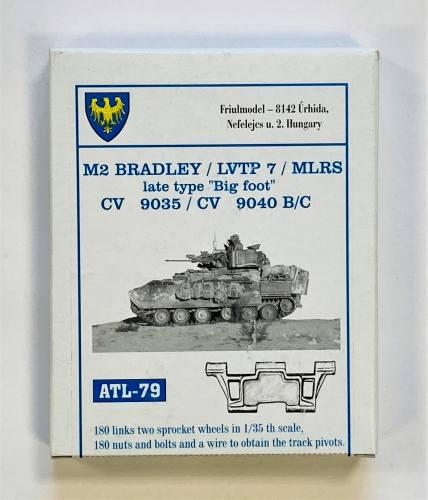 FRIULMODEL 1/35 ATL-79 M2 BRADLEY / LVTP 7 / MLRS LATE TYPE BIG FOOT CV 9035 CV 9040 B/C