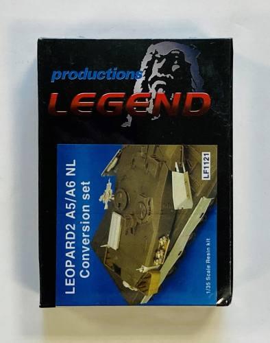 LEGEND PRODUCTIONS 1/35 1121 LEOPARD A5/A6 NL CONVERSION