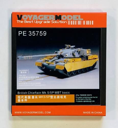 VOYAGER 1/35 35759 BRITISH CHIEFTAIN MK.5/5P MBT BASIC FOR TAKOM 2027