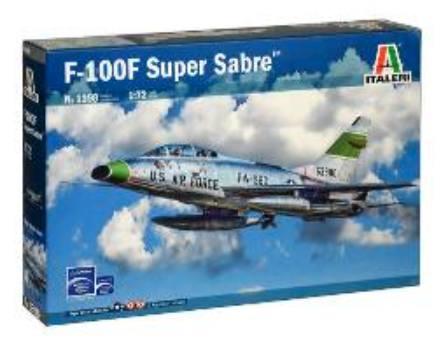 ITALERI 1/72 1398 F-100F SUPER SABRE