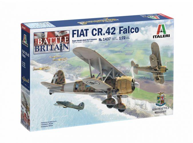 ITALERI 1/72 1437 FIAT CR.42 FALCO THE BATTLE OF BRITAIN