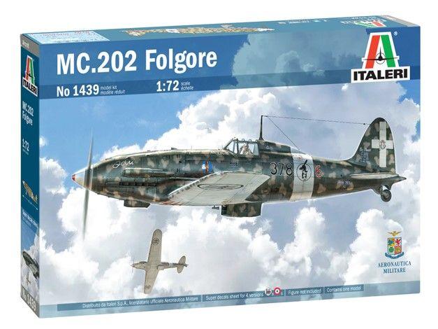 ITALERI 1/72 1439 MC.202 FOLGORE