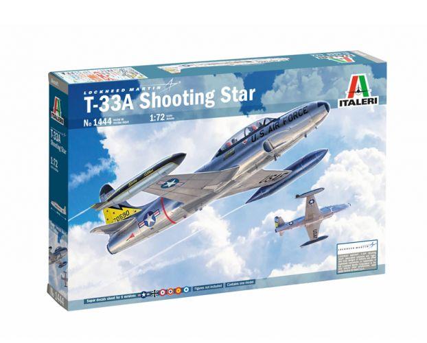 ITALERI 1/72 1444 T-33A SHOOTING STAR