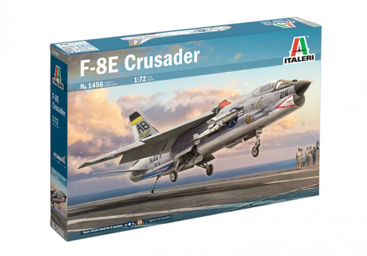 ITALERI 1/72 1456 VOUGHT F-8E CRUSADER