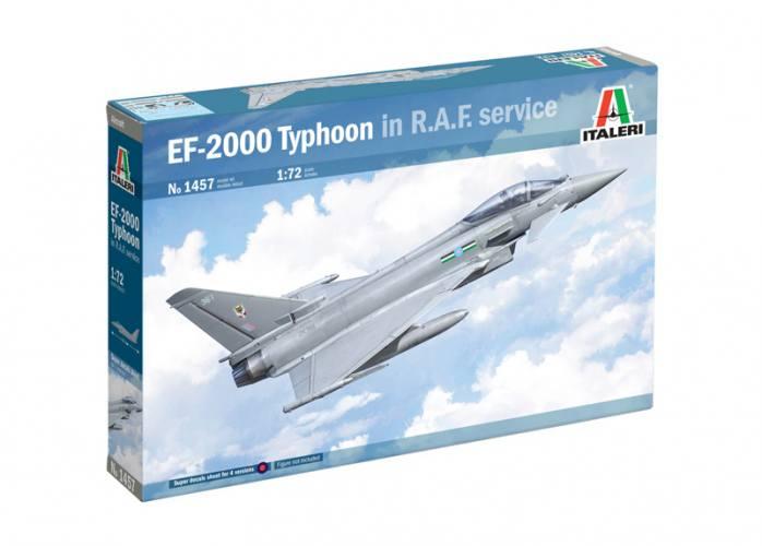 ITALERI 1/72 1457 EUROFIGHTER EF-2000 TYPHOON IN RAF SERVICE