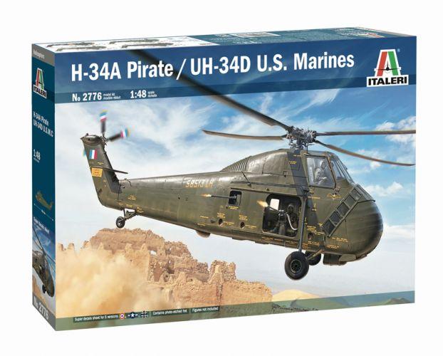 ITALERI 1/48 2776 H-34A PIRATE UH-34D US MARINES