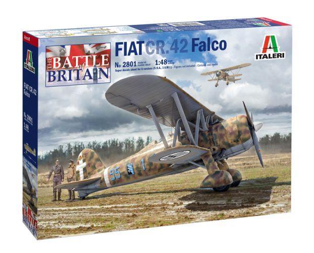 ITALERI 1/48 2801 FIAT CR.42 FALCO