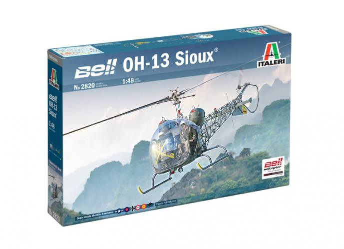 ITALERI 1/48 2820 BELL OH-13 SIOUX