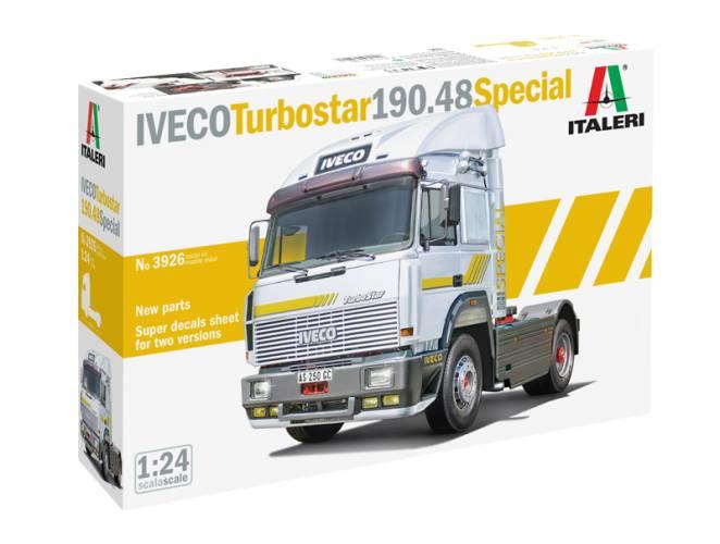 ITALERI 1/24 3926 IVECO TURBOSTAR 190.48 SPECIAL
