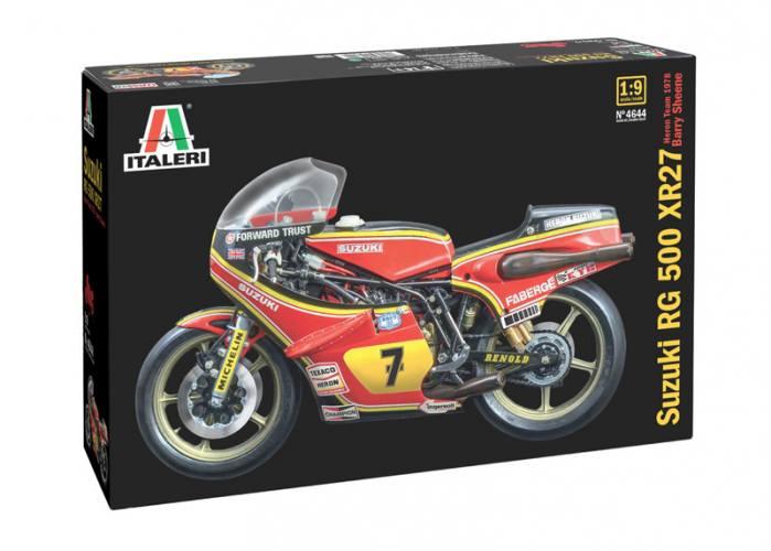 ITALERI 1/9 4644 SUZUKI RG 500 XR27 TEAM HERON  Barry Sheene  1978