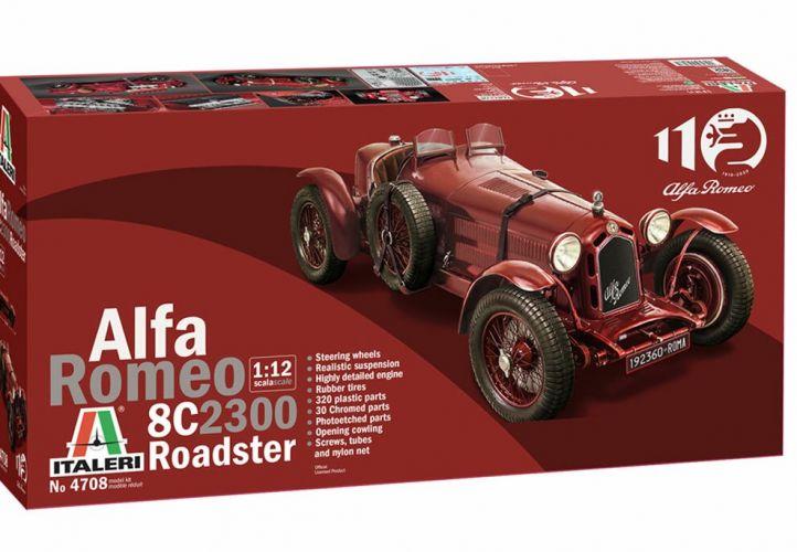 ITALERI 1/12 4708 ALFA ROMEO 8C2300 ROADSTER