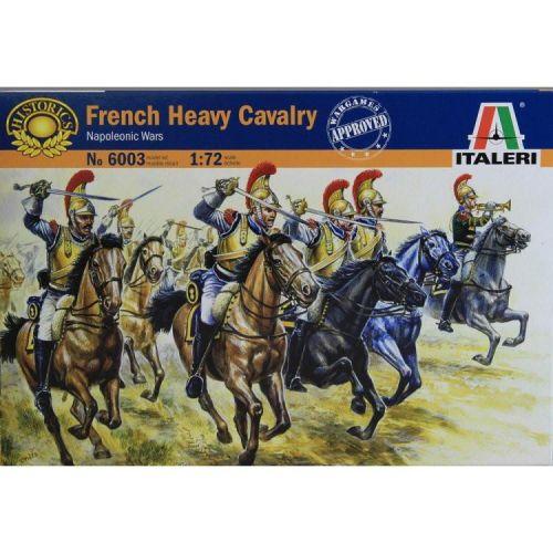 ITALERI 1/72 6003 FRENCH HEAVY CAVALRY