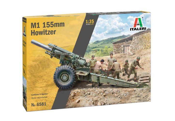 ITALERI 1/35 6581 M1 155mm HOWITZER