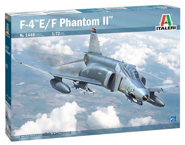 ITALERI 1/72 1448 F-4E/F PHANTOM II