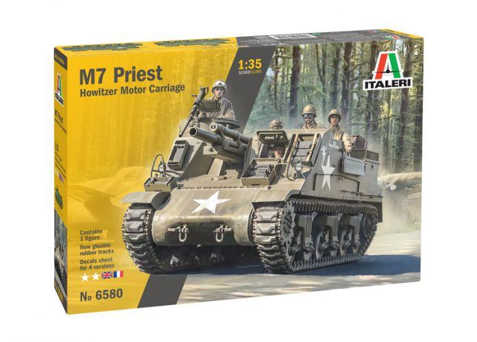 ITALERI 1/35 6580 M7 PRIEST HOWITZER MOTOR CARRIAGE