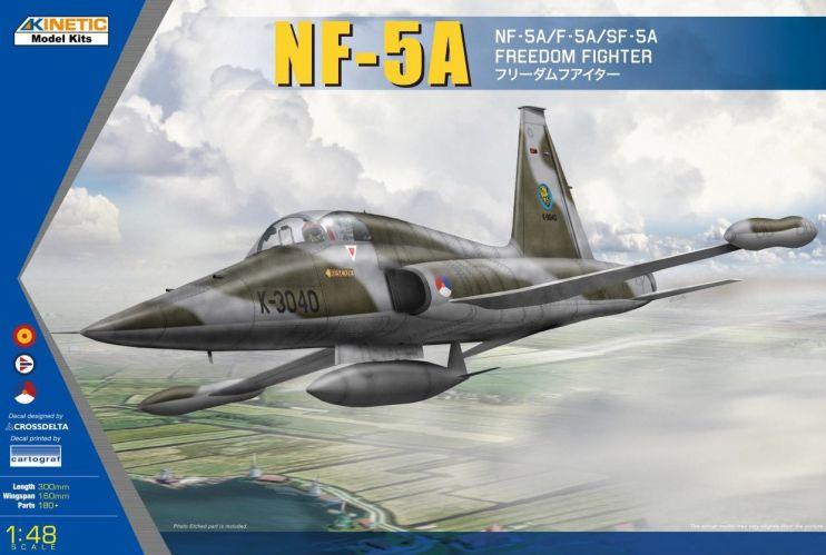 KINETIC 1/48 48110 NF-5A FREEDON FIGHTER
