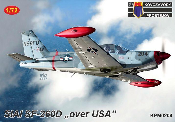 KP 1/72 0209 SIAI SF-260 OVER USA