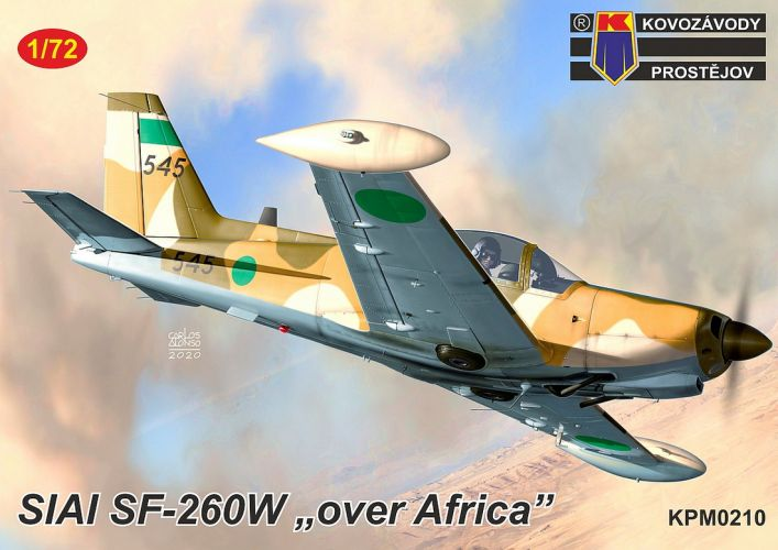 KP 1/72 0210 SIAI SF-260W OVER AFRICA