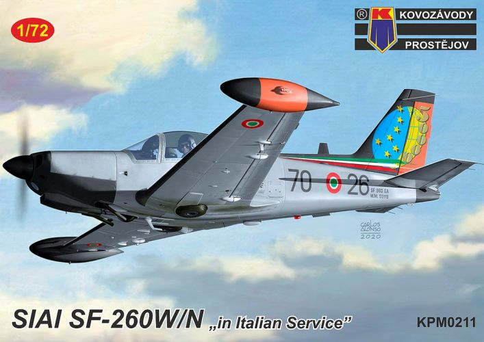 KP 1/72 0211 SIAI SF-206EA IN ITALIAN SERVICE