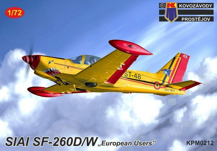 KP 1/72 0212 SIAI SF-206DW EUROPEAN USERS