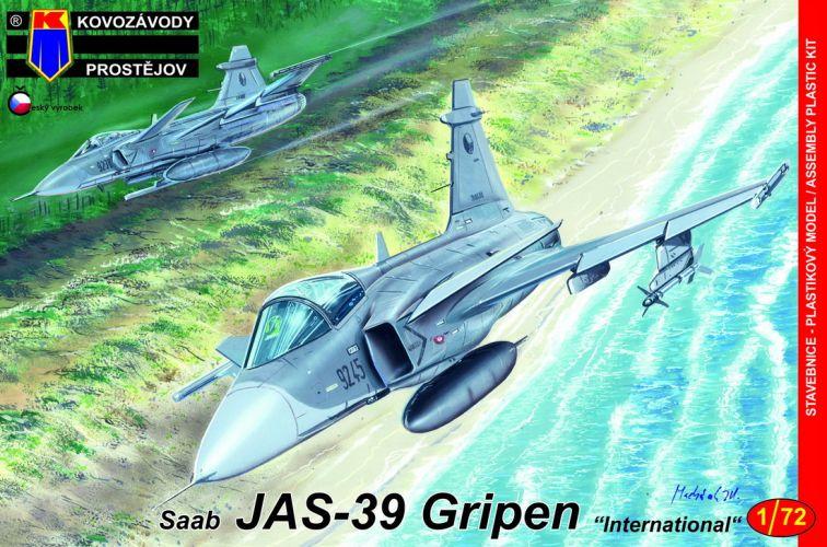 KP 1/72 0161 SAAB JAS-39 GRIPEN INTERNATIONAL