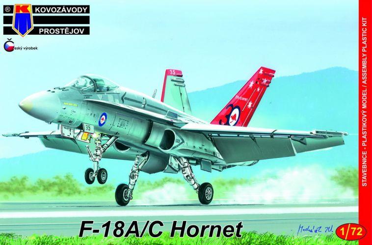 KP 1/72 0163 MCDONNELL DOUGLAS F-18A/C HORNET