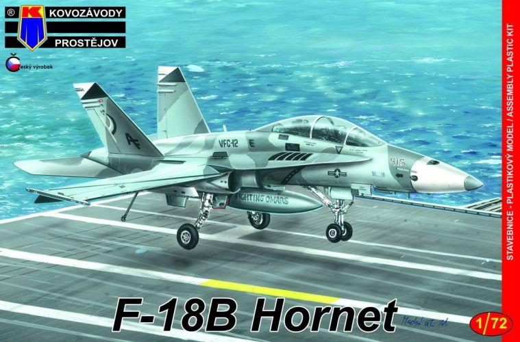 KP 1/72 0164 MC DONNELL DOUGLAS F-18B HORNET LOW VIS