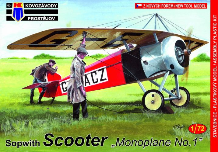 KP 1/72 0165 SOPWITH SCOOTER MONOPLANE NO.1