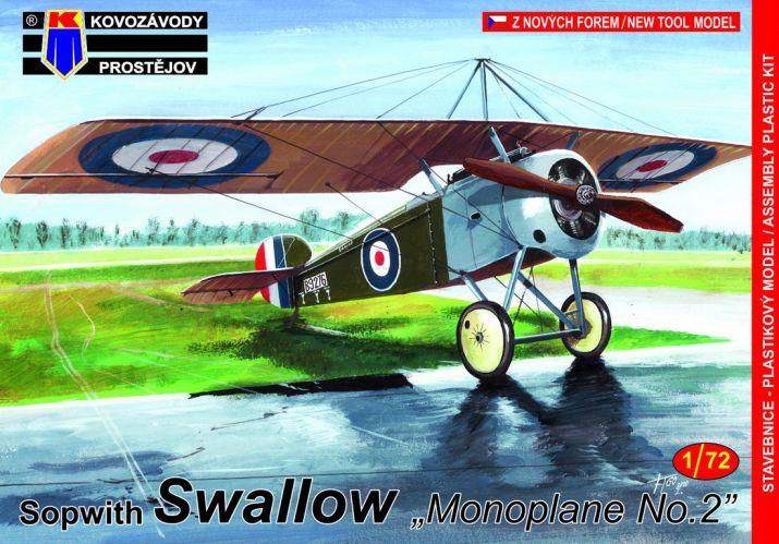KP 1/72 0166 SOPWITH SWALLOW MONOPLANE No.2