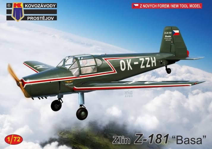 KP 1/72 0229 ZLIN Z-181 BASA