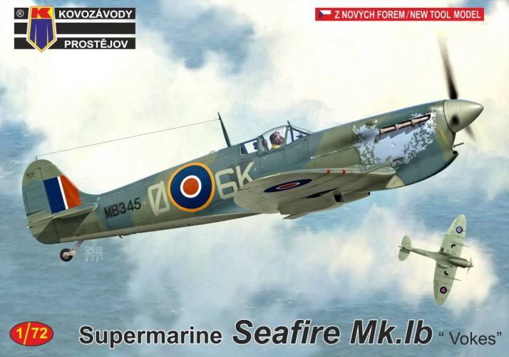 KP 1/72 0239 SUPERMARINE SEAFIRE MK.IB VOKES