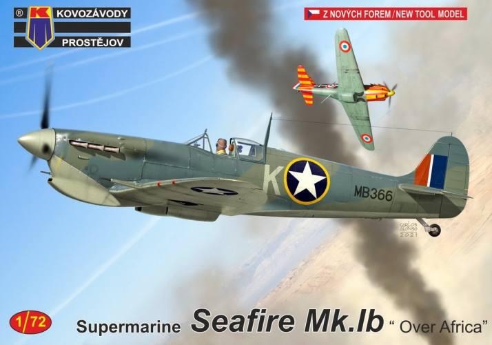 KP 1/72 0241 SUPERMARINE SEAFIRE MK.IB OVER AFRICA