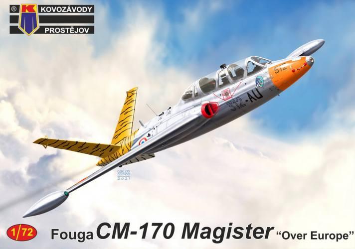 KP 1/72 0242 FOUGA CM-170 MAGISTER OVER EUROPE