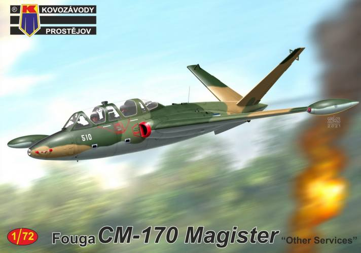 KP 1/72 0244 FOUGA CM-170 MAGISTER OTHER SERVICES