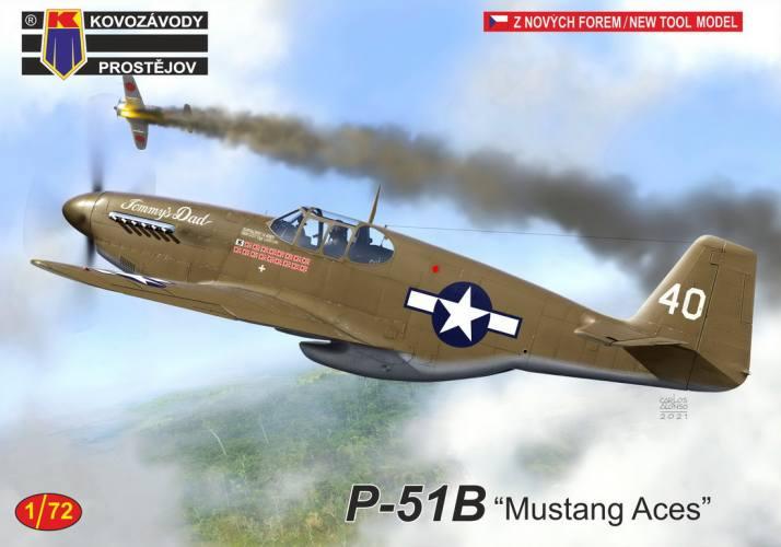 KP 1/72 0245 P-51B MUSTANG ACES