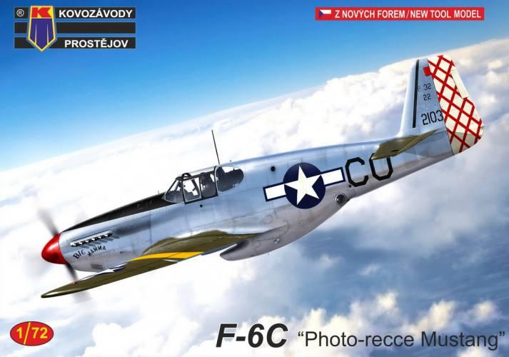 KP 1/72 0246 F-6C PHOTO-REECE MUSTANG