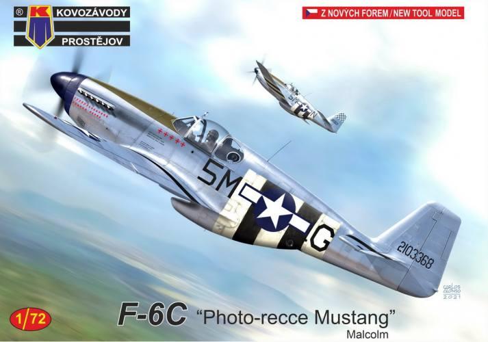 KP 1/72 0248 F-6C PHOTO-REECE MUSTANG MALCOLM