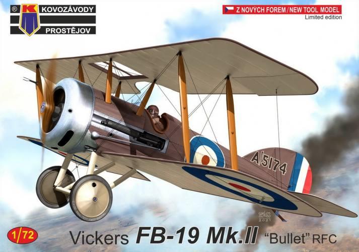 KP 1/72 0250 VICKERS FB-19 MK.II BULLET RFC