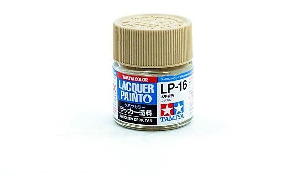 TAMIYA  82116 WOODEN DECK TAN LACQUER PAINT  UK SALE ONLY