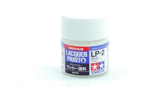 TAMIYA  82102 LP-2 WHITE LACQUER PAINT  UK SALE ONLY